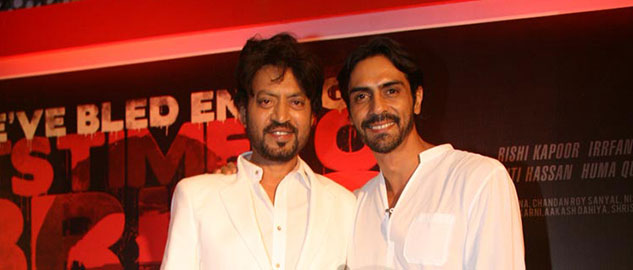 Arjun Rampal and Irrfan Khan