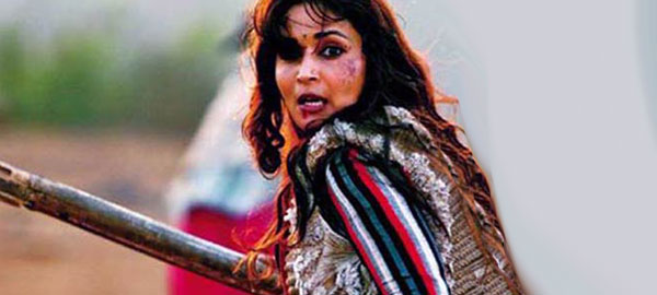 Action queen Madhuri