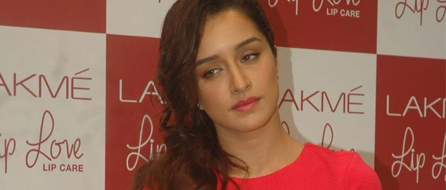Shraddha Kapoor at the launch of Lakme Lip love lip care.