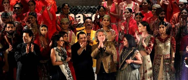 Grand finale of the Amazon India Fashion Week