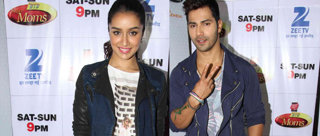 Varun Dhawan and Shraddha Kapoor's dancing fun on 'DID Super Moms'