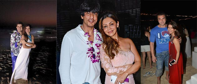SRK and Gauri spotted at the 'Planet Hollywood' bash in Goa