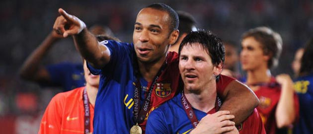 Impossible to Stop Lionel Messi : Thierry Henry