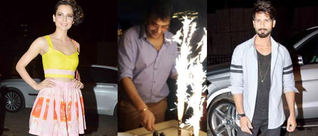 Mukesh Chhabra's grand day bash!