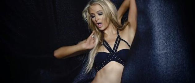 "Paris Hilton mixes up Madonna and 50 Shades of Grey in her ""very sexual"" pop video"