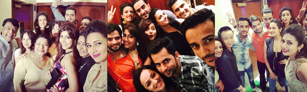 Karan Patel celebrates wife Ankita Bhargava's birthday with his YHM team