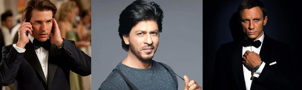Shah Rukh Khan wants to bring together Mission Impossible's Ethan Hunt and James Bond together