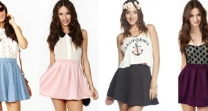 Style Tips On How To Wear Skater Skirts