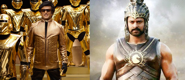 Baahubali 2 and Enthiran 2 to release on same day: Rajinikanth, Prabhas gift people 2017's biggest clash