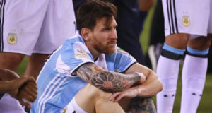 Messi announces his retirement from International Football!