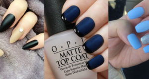 Tips to turn your normal nail polish into matte using cornflour.