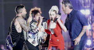 Watch Miley Cyrus, Adam Levine, Blake Shelton, Alicia Keys Pay Tribute to Christina Grimmie.