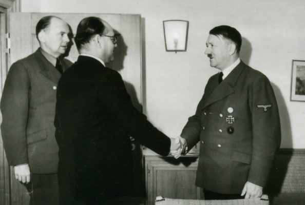 Netaji Subhas Chandra Bose with Adolf Hitler