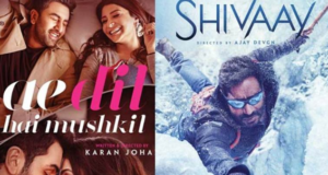 Ae Dil Hai Mushkil and Shivaay won't be released in Pakistan.
