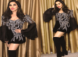 Sophie Stuns In A Manish Malhotra outfit In London