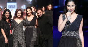 Sophie Choudry's Dua Lipa moment on the ramp!