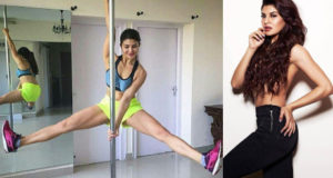 #StarrySpecial: Jacqueline Fernandez pole dancing in Budapest