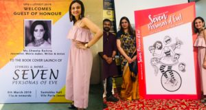 Shweta Rohira unveils the first look of Dr. Anju Kapoor & Harry Kurup's book, '7 Personas Of Eve'